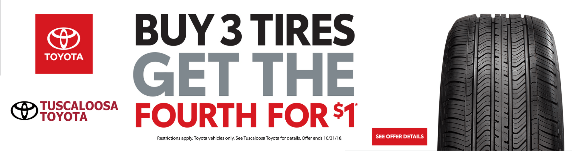 2018 October Tire Sale