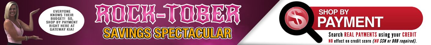 Rock-Tober Savings Spectacular Event - Shop By Payment