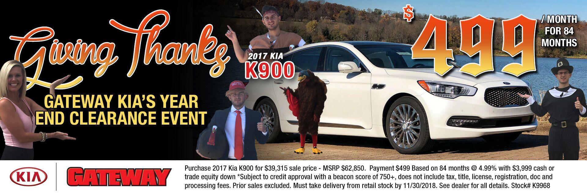 2017 Kia K900 Luxury
