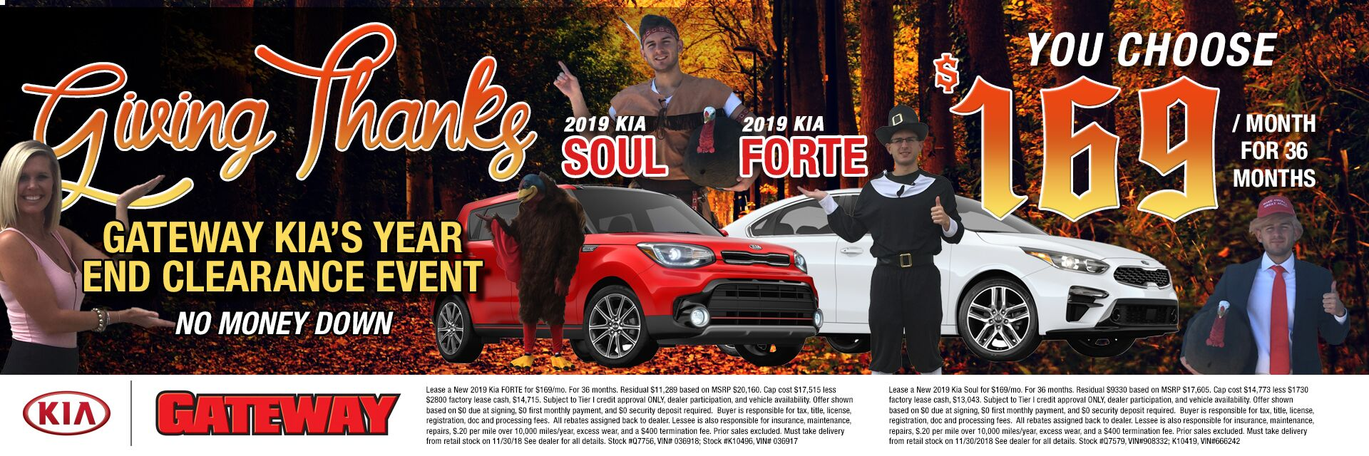 Giving Thanks For Forte and Soul $169/mo