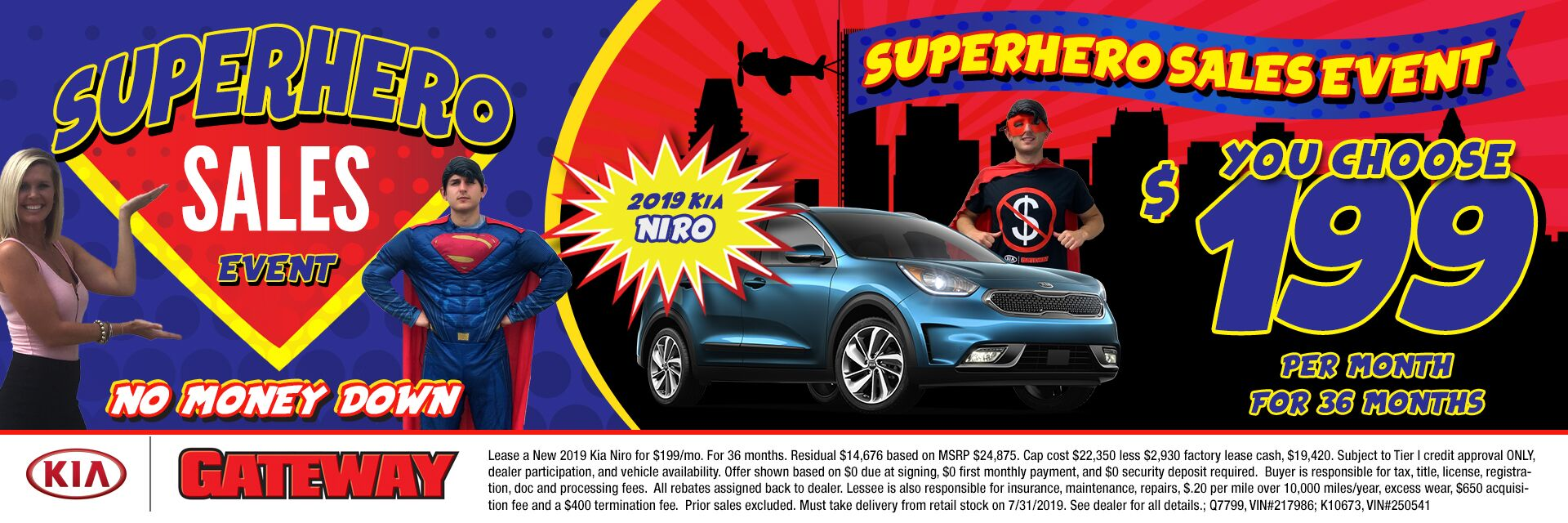 $199/mo Niro Sign & Drive Lease Special