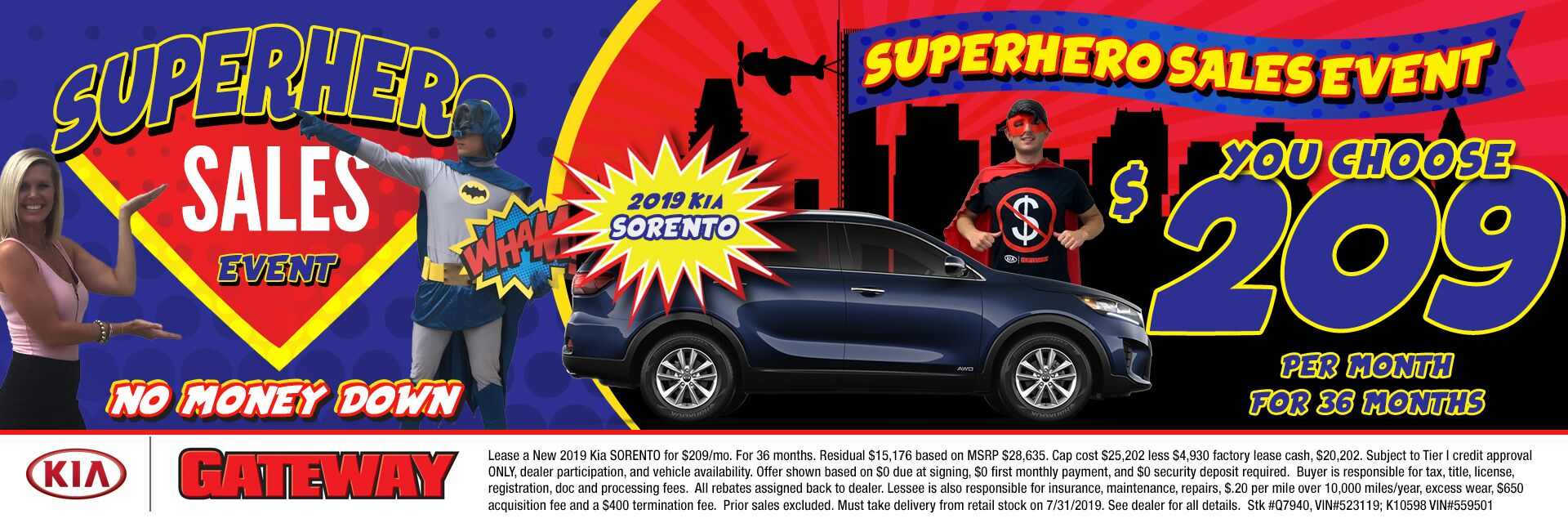 $209/mo Sorento Sign & Drive Lease Special