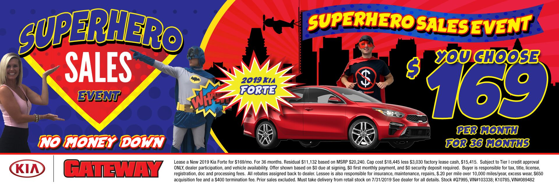 $169/mo Forte Sign & Drive Special Lease