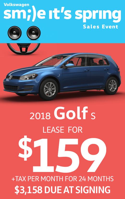 2018 Golf S