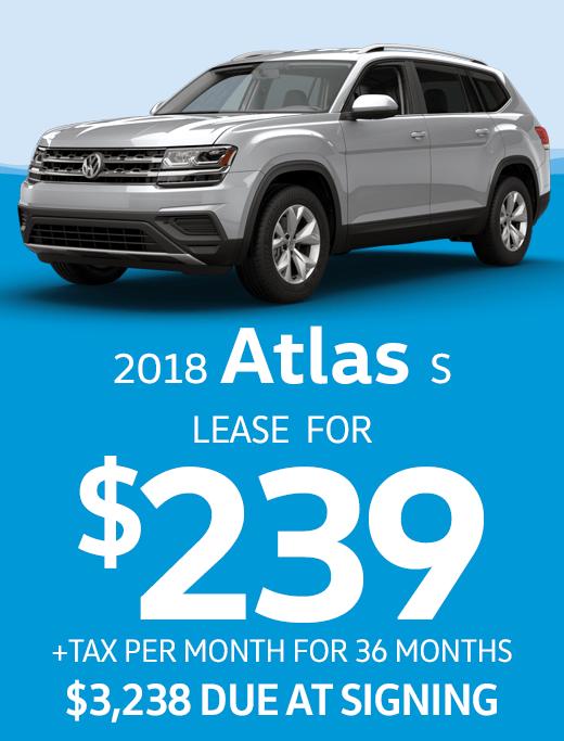 2018 Atlas 2.0T S