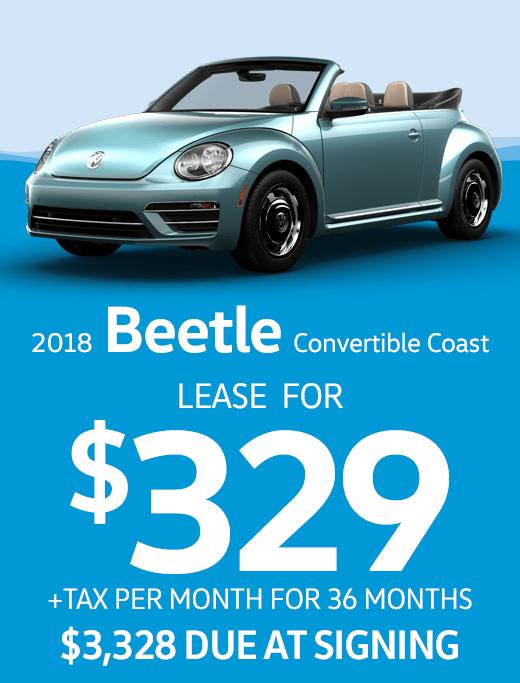 2018 Beetle Convertible Coast