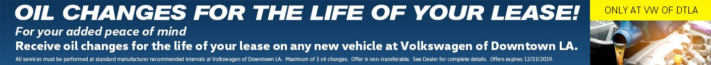 New Lease Lifetime Oil Changes - current