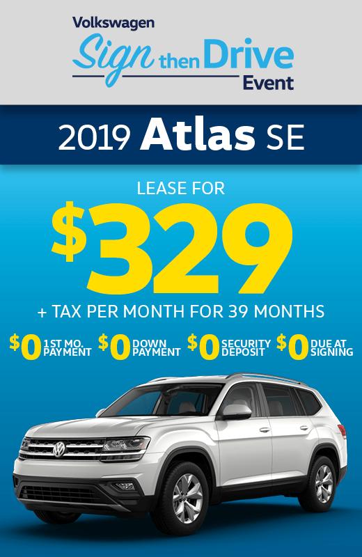 2019 Volkswagen Atlas 3.6L V6 SE