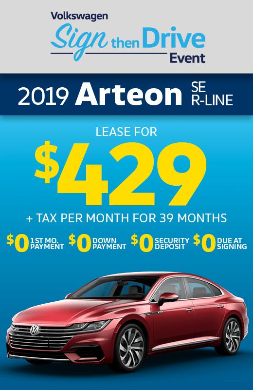 2019 Volkswagen Arteon SE R-Line