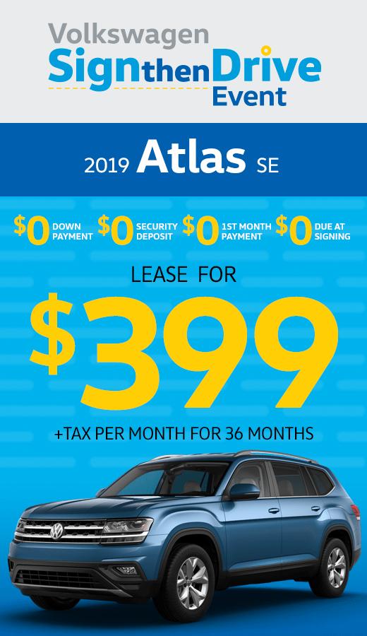 2019 Atlas V6 SE
