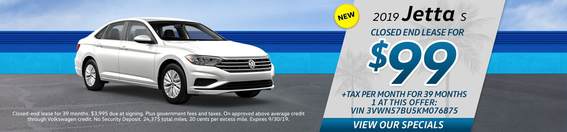 VW Jetta Special Offer