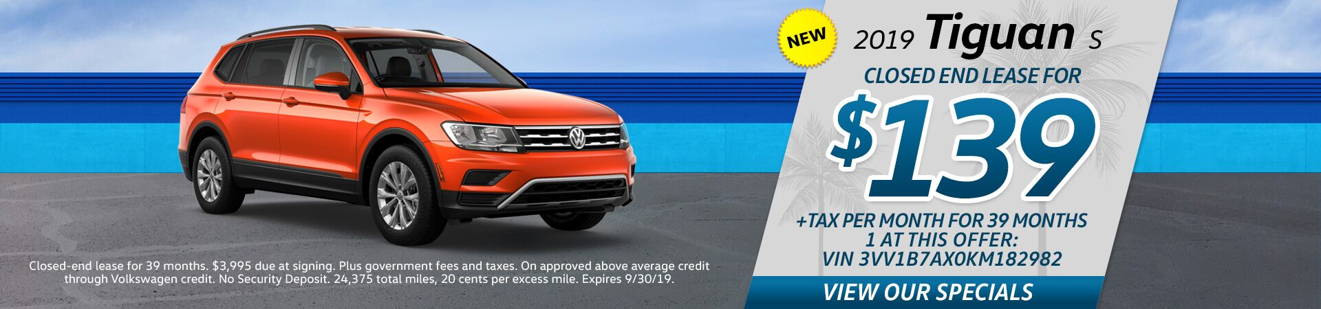 VW Tiguan Special Offer