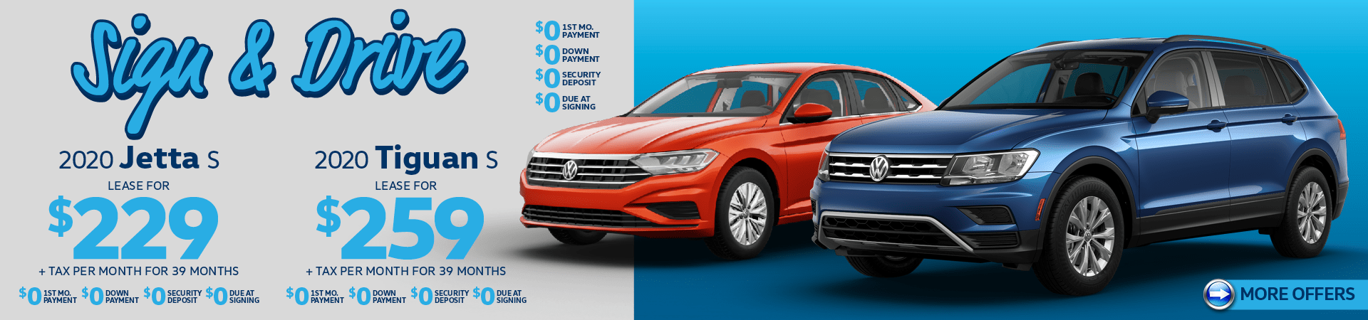 Jetta and Tiguan Specials