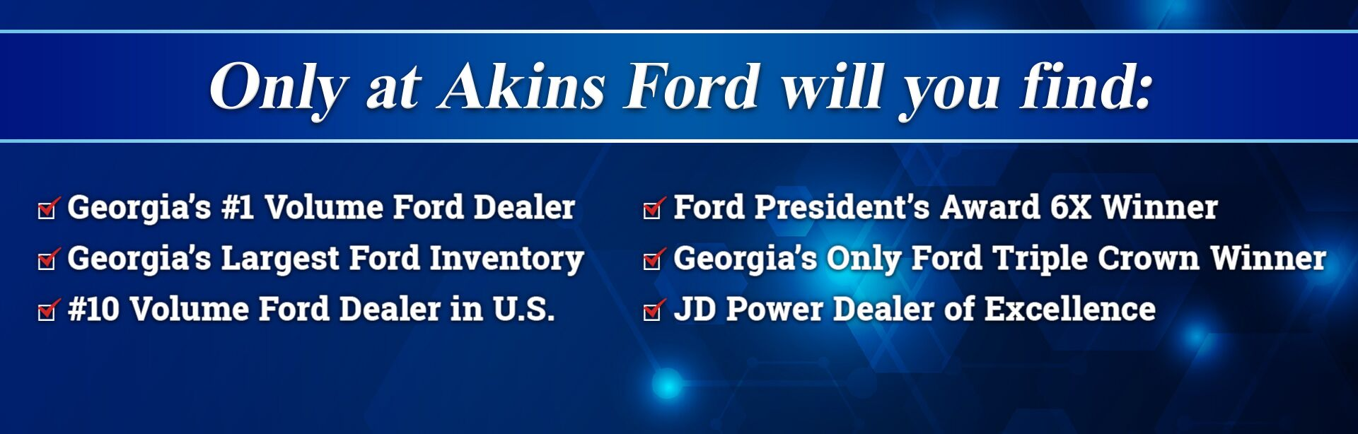 Ford Dealers In Ga >> Ford Dealership Winder Ga Used Cars Akins Ford