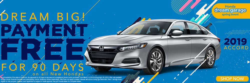 2019 Honda Accord 90 Days