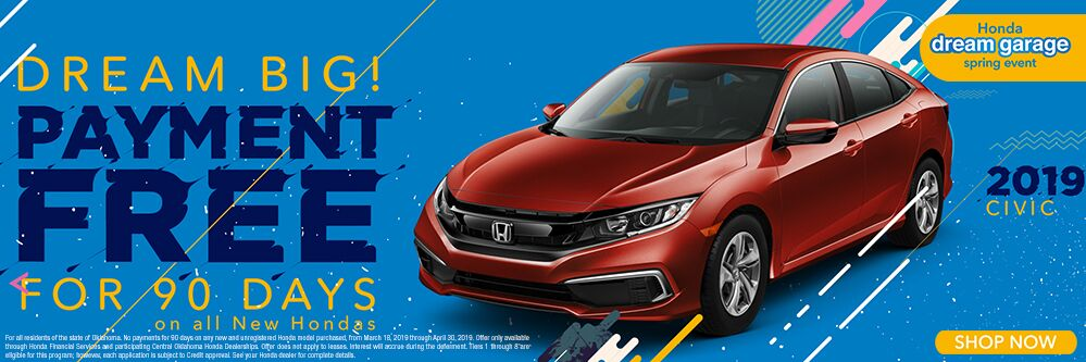 2019 Honda Civic 90 Days