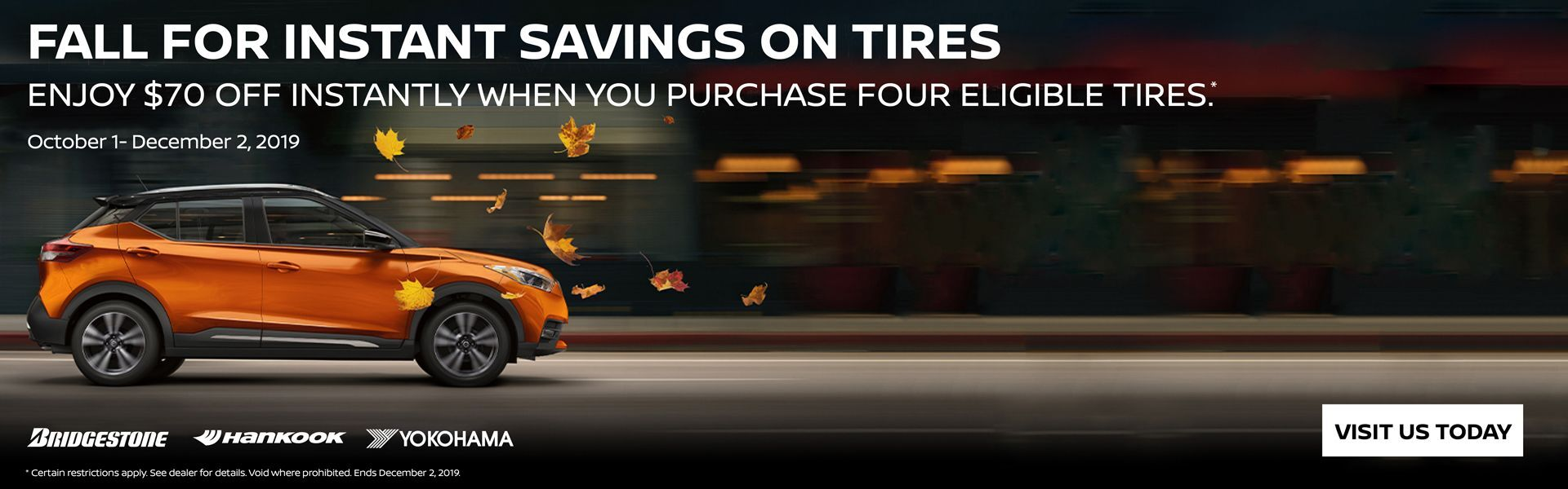 Tire Rebate HP Banner