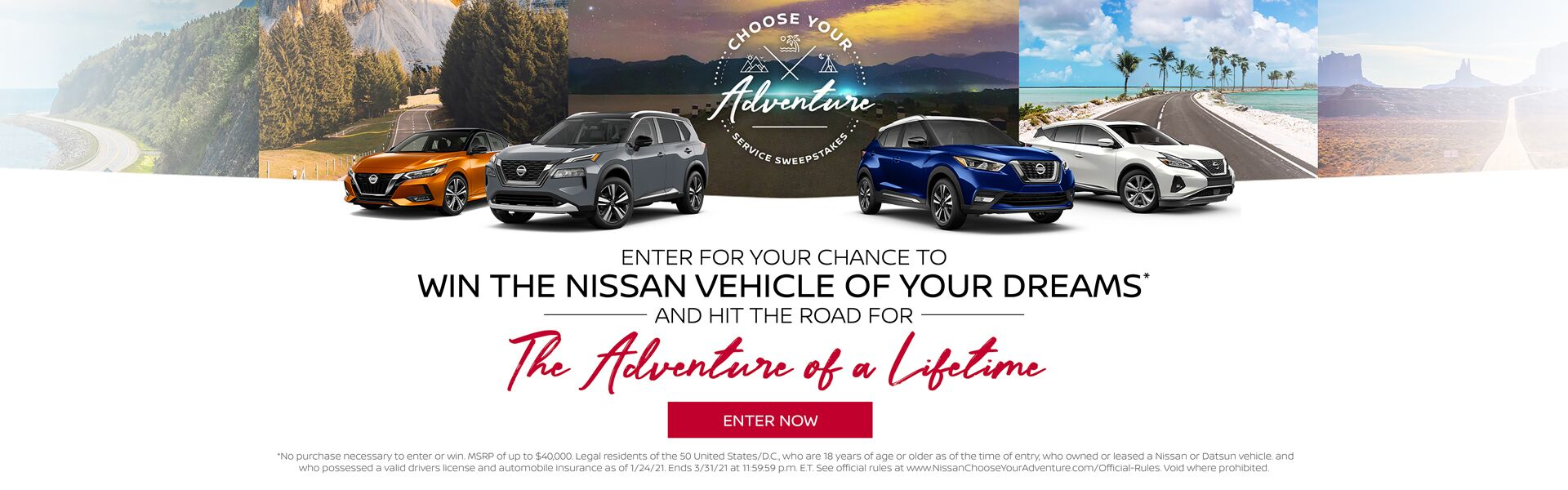 Nissan Adventure of a Lifetime