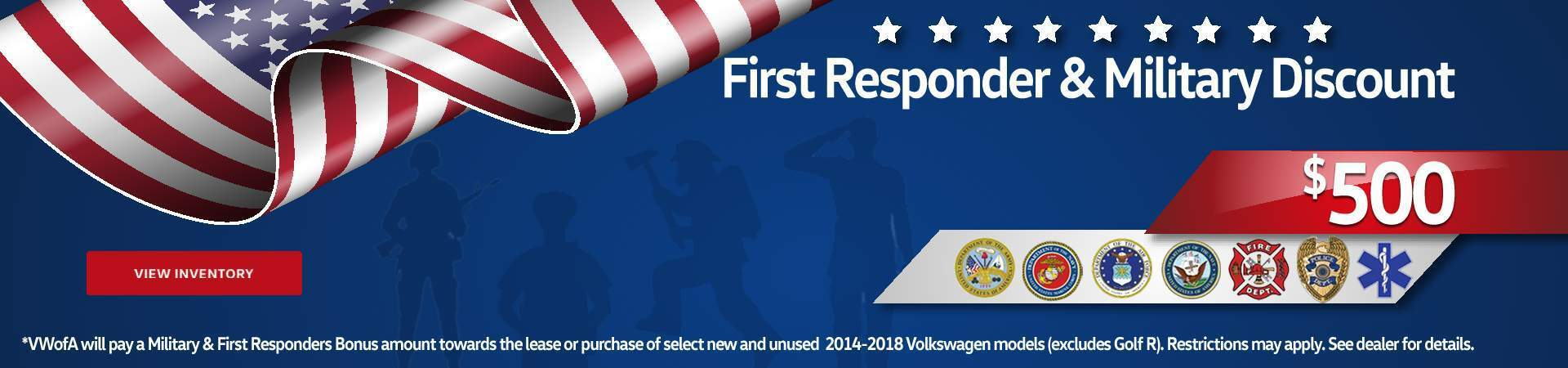 Military/First Responder Banner