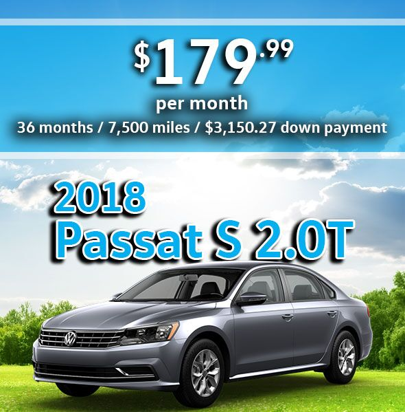 2018 Passat 2.0T S