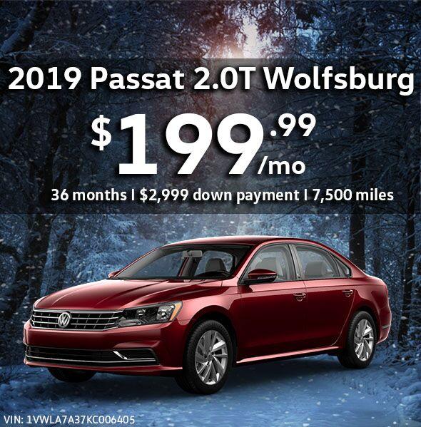 2019 Passat 2.0T Wolfsburg Edition