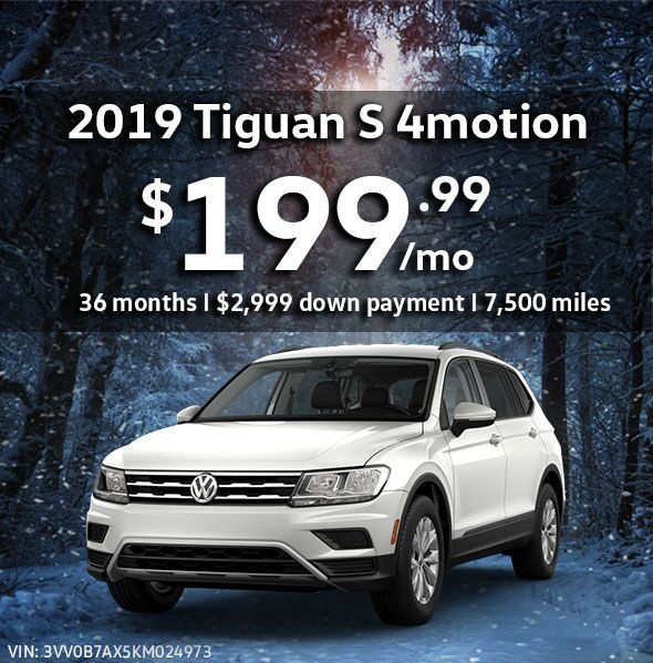 2019 Tiguan 2.0T S