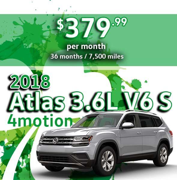 2018 Atlas 3.6L V6 S