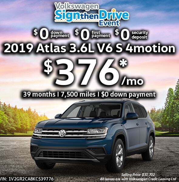2019 Atlas V6 S with 4MOTION®