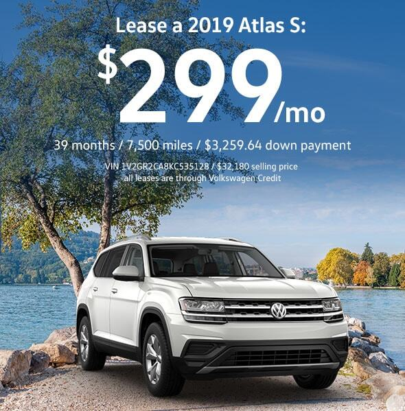 2019 Atlas 3.6L V6 S
