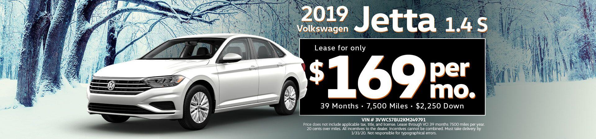 2019 Volkswagen Jetta 1.4T S w/SULEV