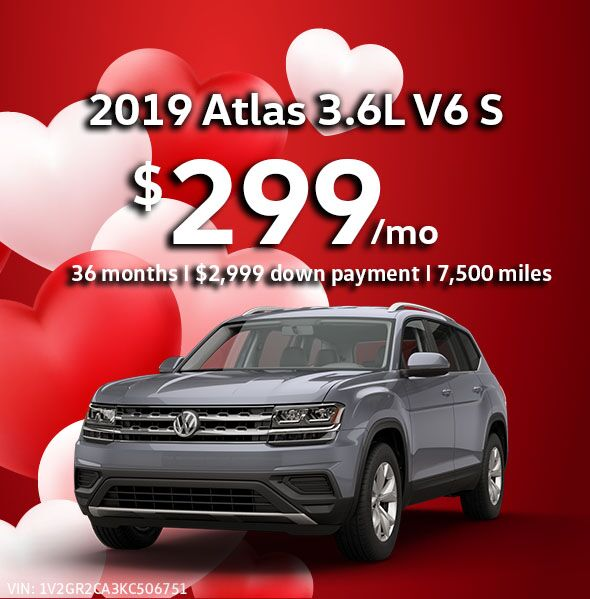 2019 Atlas 3.6L V6 SE