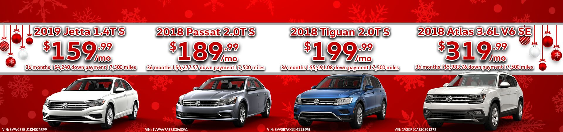 December Lease Specials