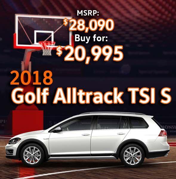 2018 Volkswagen Golf Alltrack TSI S