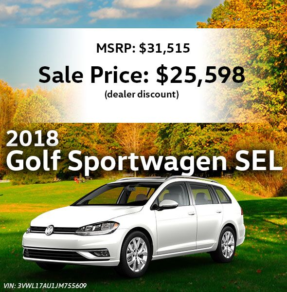 2018 Volkswagen Golf SportWagen SEL