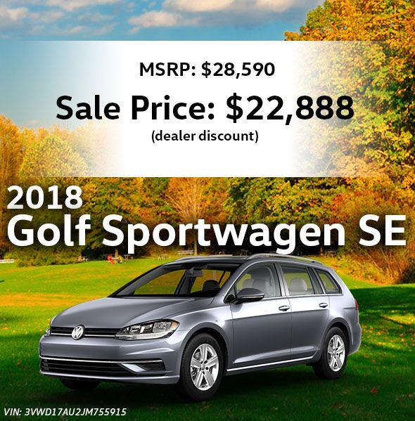 2018 Volkswagen Golf SportWagen SE