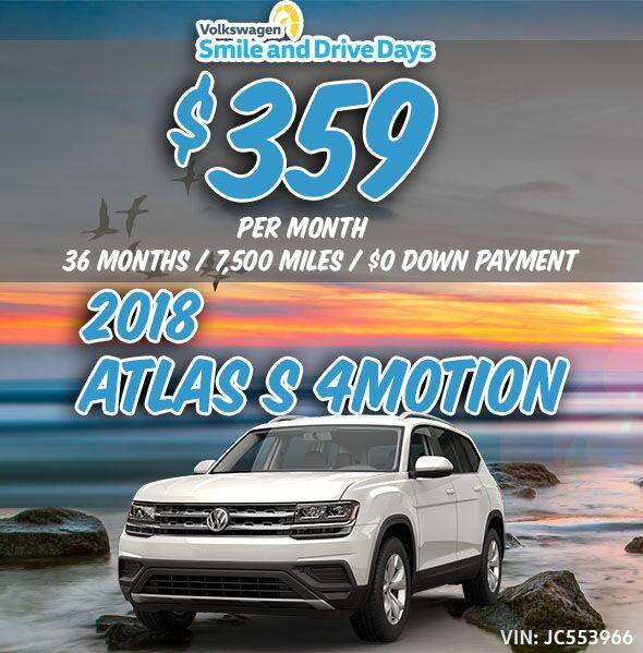 2018 Volkswagen Atlas S