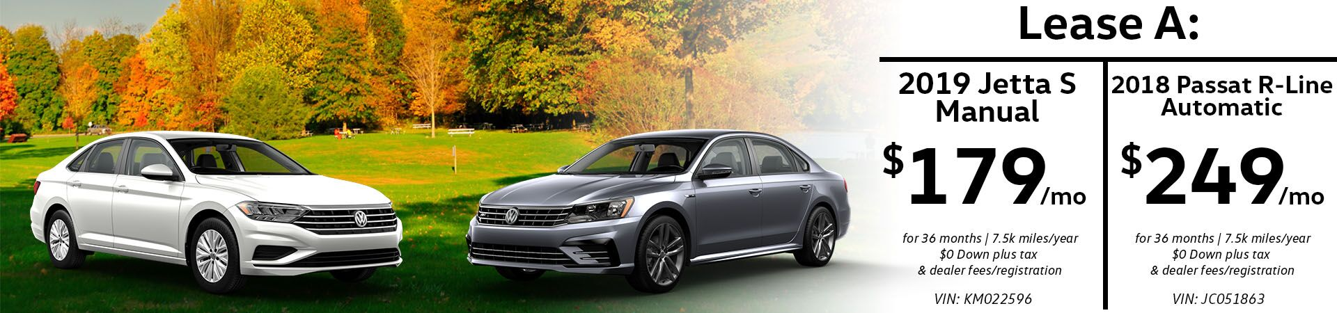 November Jetta and Passat Special