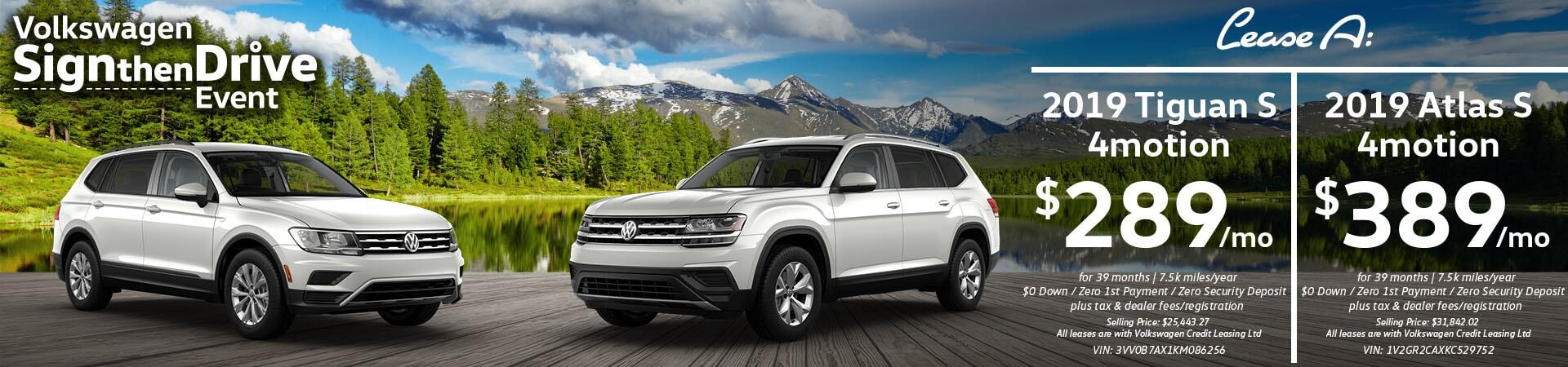 May Atlas & Tiguan Slide
