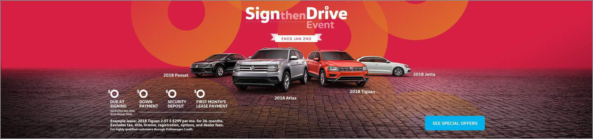 Sign and Drive Event