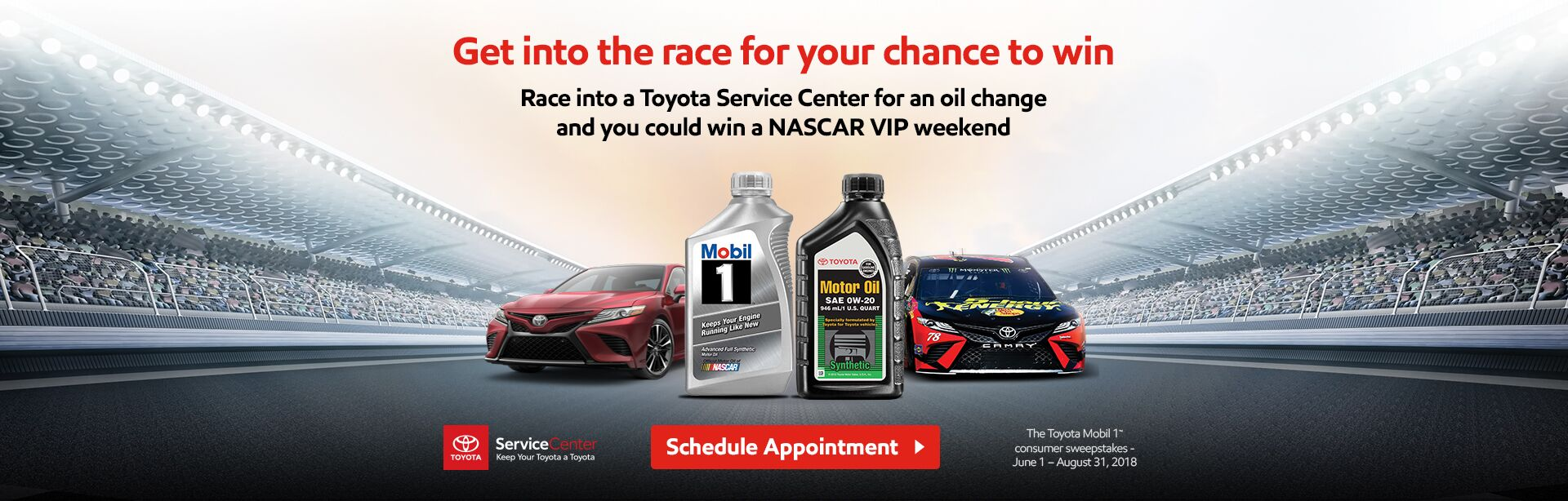 EXXonMobil Toyota Sweeps Opt