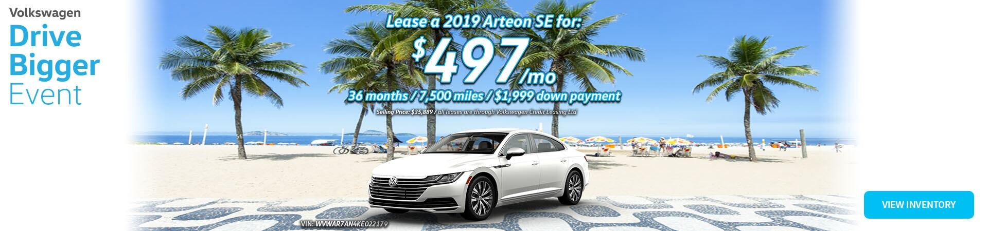 July Arteon SE Slide