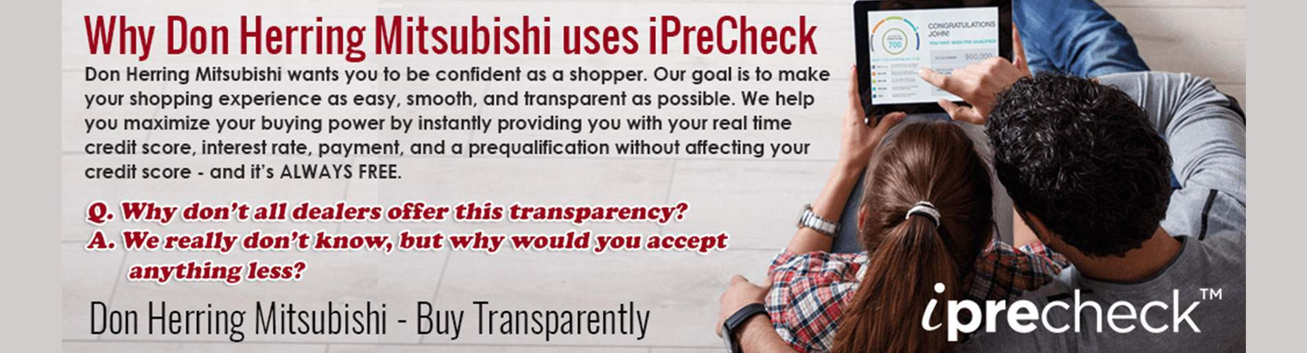 Why Don Herring Uses iPrecheck