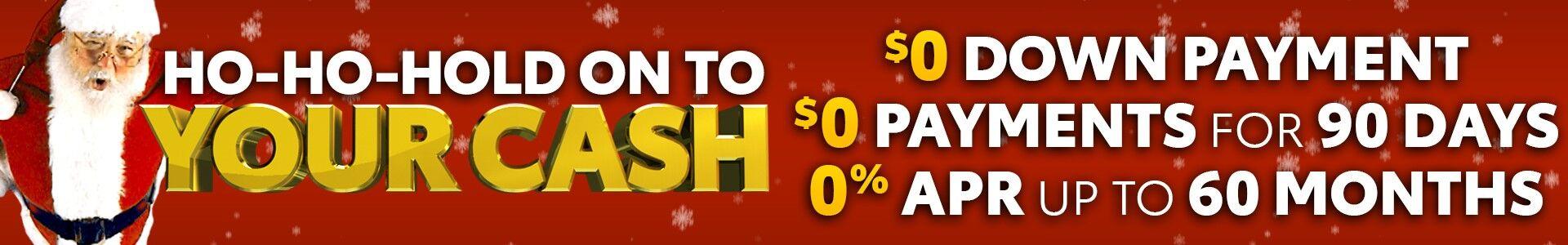 Ho-Ho-Hold onto Your Cash