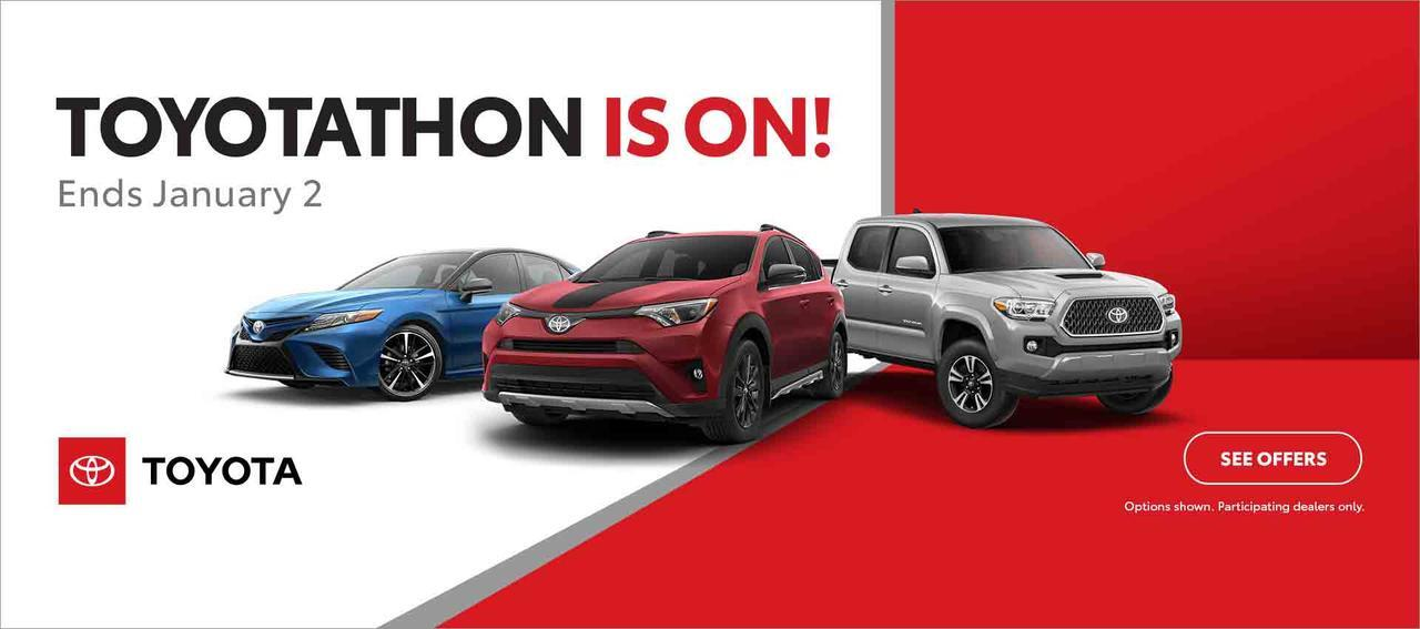 TOYOTATHON is ON!!