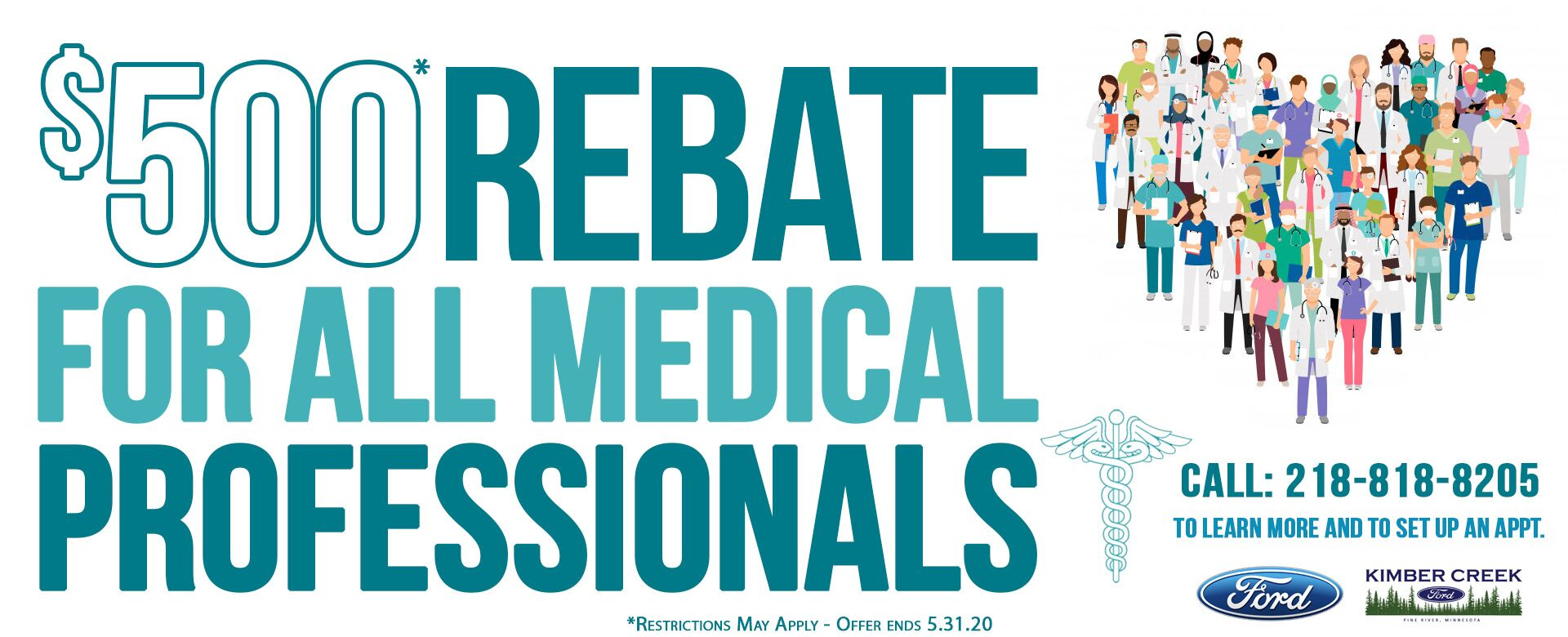 $500 Medical Professional Rebate