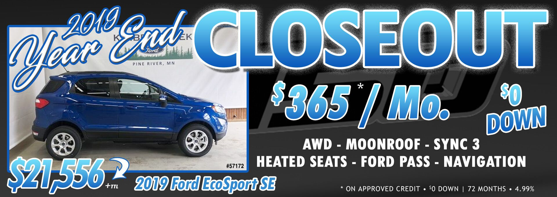 EcoBoost Closeout