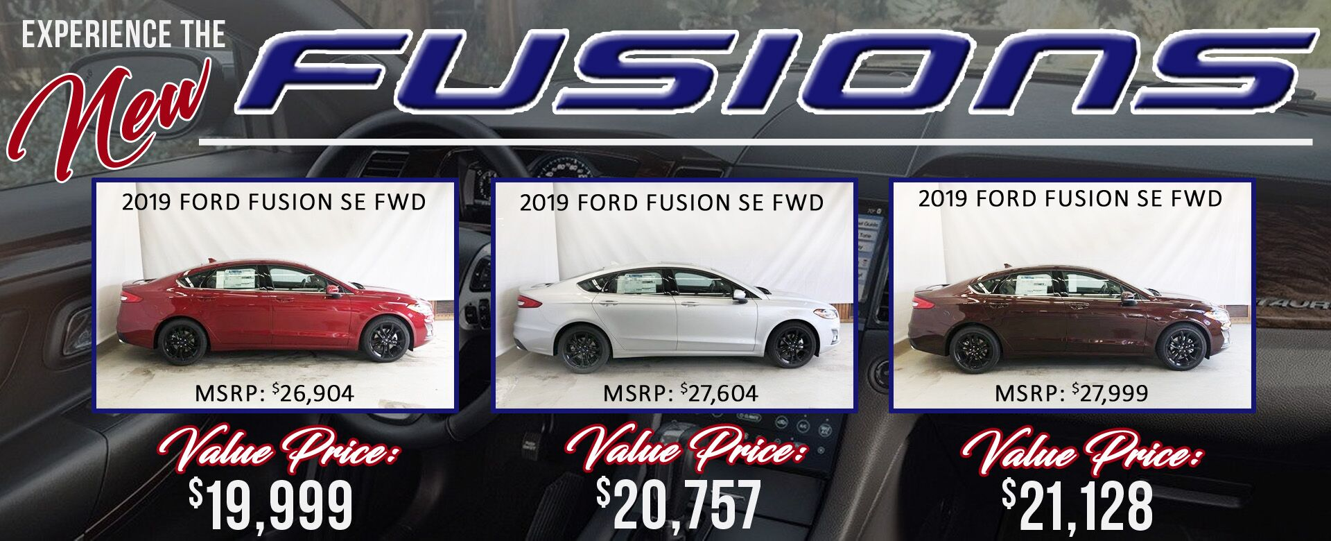 2019 Fusions