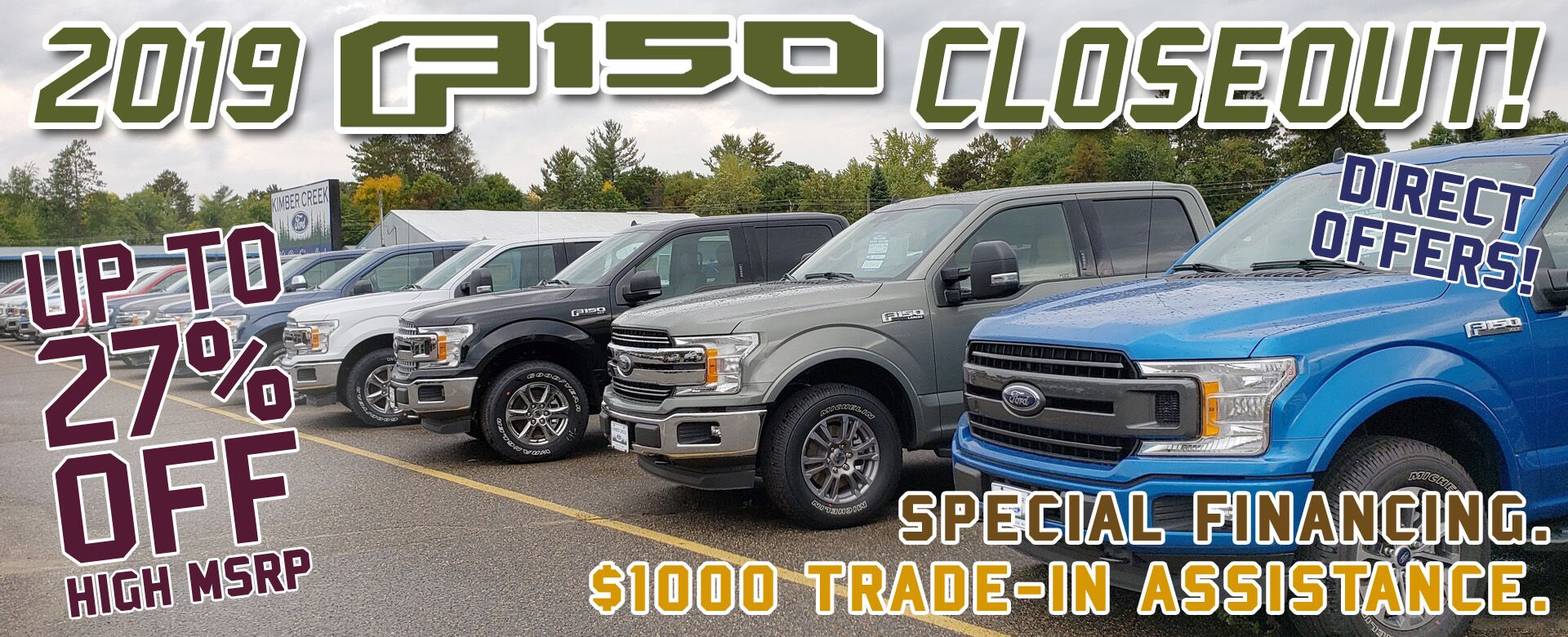 2019 Ford F-150 Closeout