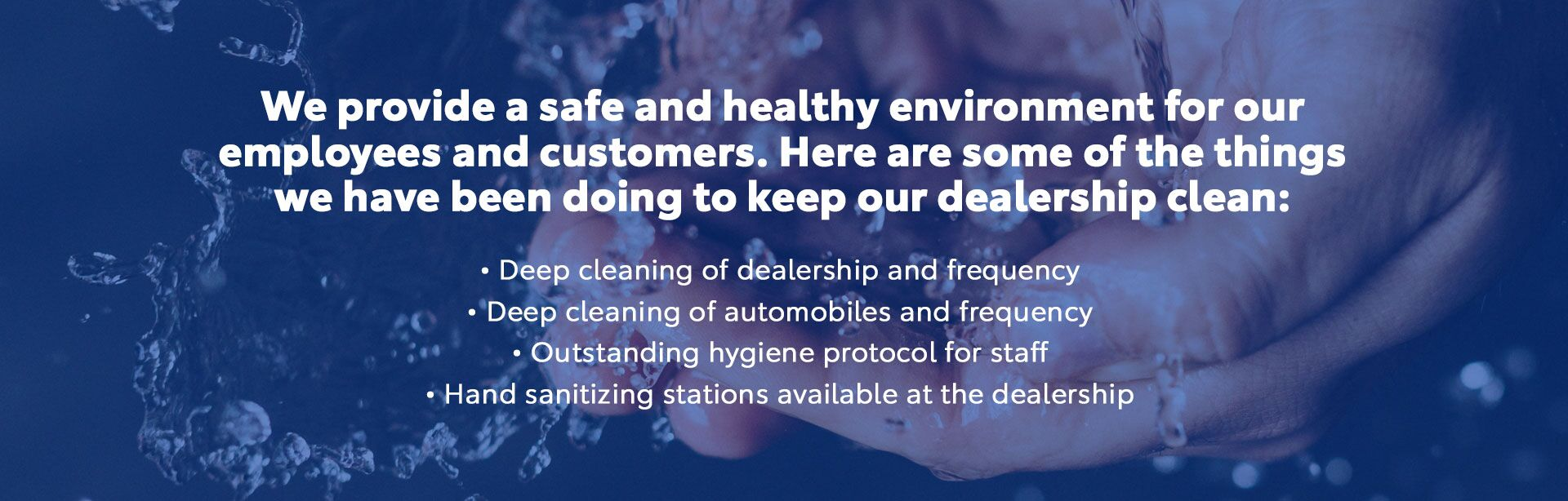 Safe & Healthy Environment