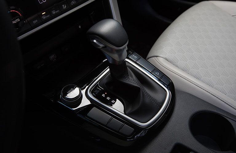Gear shift in 2021 Kia Seltos
